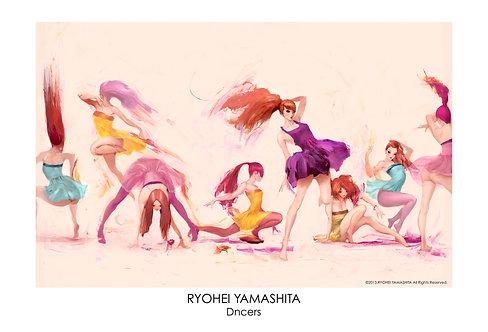 ジクレーポスター 【Dancers】