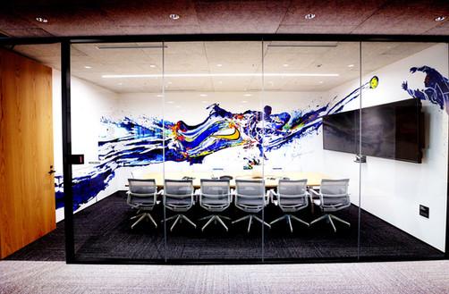 NIKE JAPAN 本社内壁画