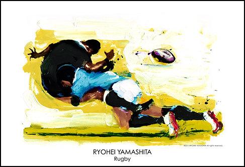 ジクレーポスター 【Rugby】