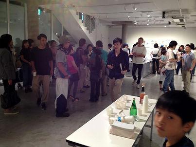個展パーティ2012