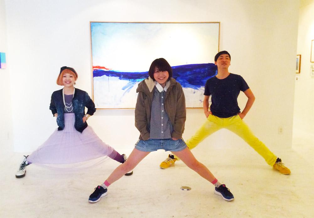 福岡、東京個展2014「MOMENT」