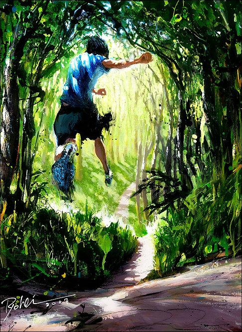 オリジナル原画【Tarzan 719 cover】
