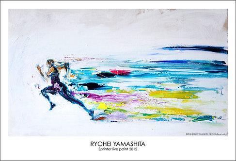 ジクレーポスター 【Sprinter live paint 2012】