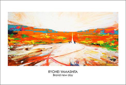 ジクレーポスター 【Brand new day】