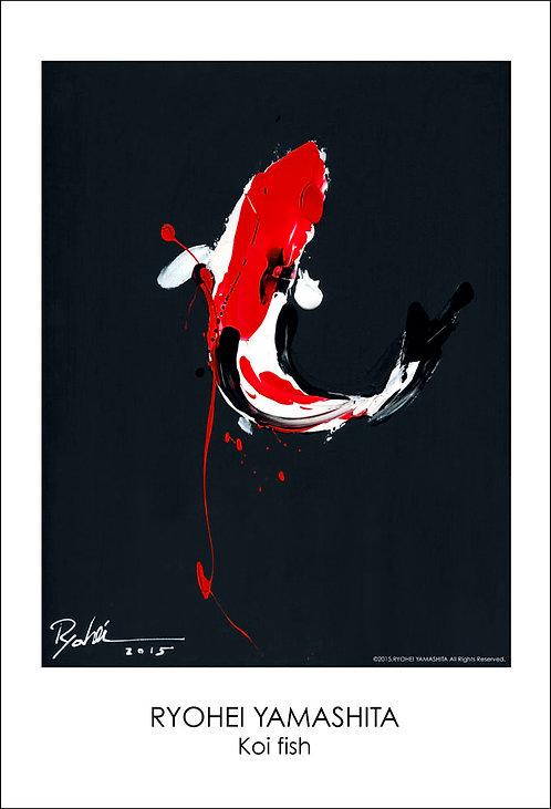 ジクレーポスター 【Koi fish】