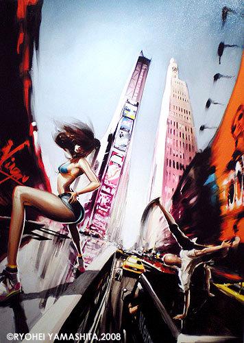 オリジナル原画【Shake the billboard 2】