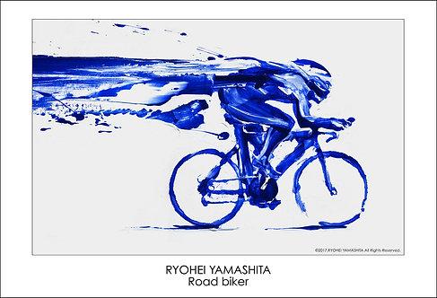 ジクレーポスター 【Road biker】
