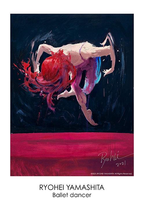 ジクレーポスター 【Ballet dancer】