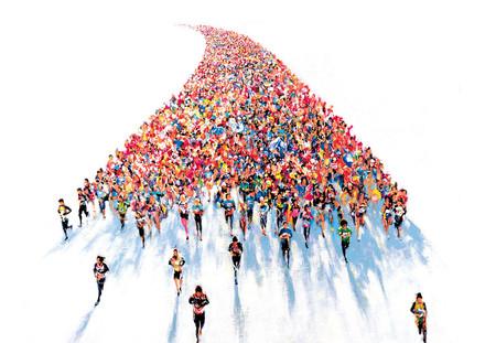横浜マラソン2015大会告知ビジュアル