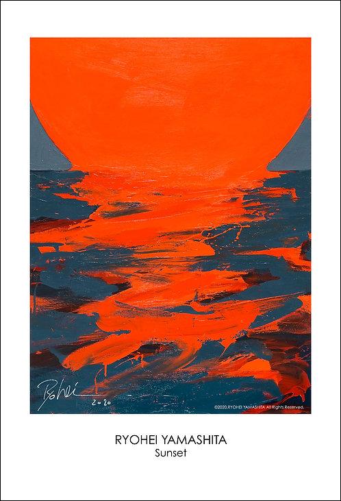 ジクレーポスター 【Sunset】