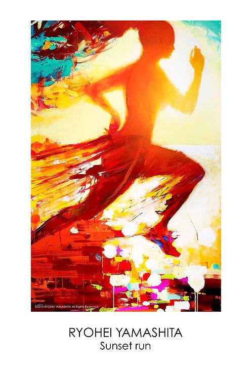 ジクレーポスター 【Sunset run】