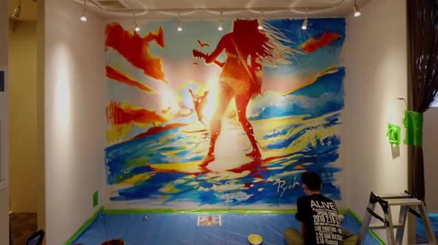 PLAY! Fujisawa 壁画