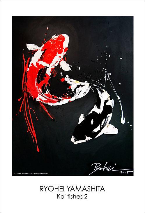 ジクレーポスター 【Koi fishes 2】