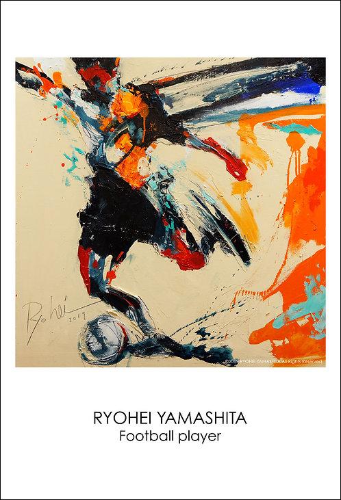 ジクレーポスター 【Football player】