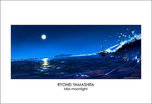 ジクレーポスター 【Miss moonlight】