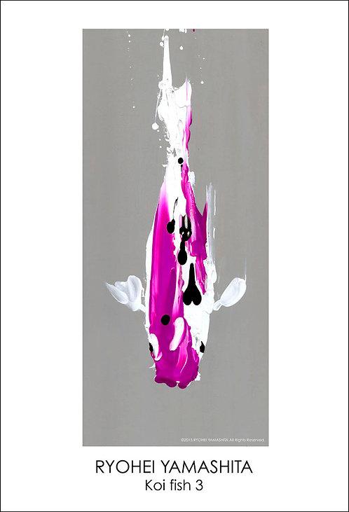 ジクレーポスター 【Koi fish 3】