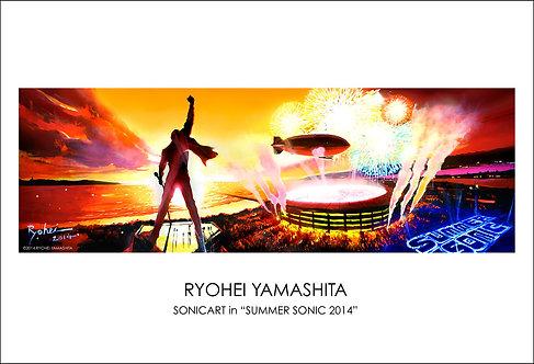 ジクレーポスター【Sonicart in Summer Sonic 2014】