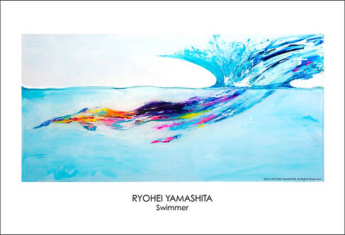 ジクレーポスター 【Swimmer】