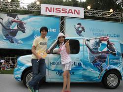 Nissan cubeラッピング