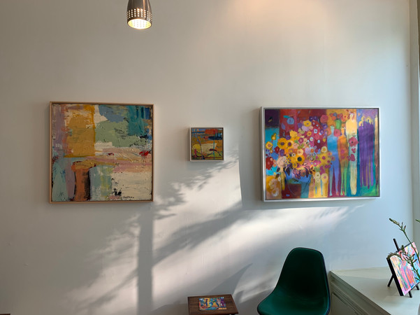 artwork by Barbara Trachtenberg and Loren Doucette