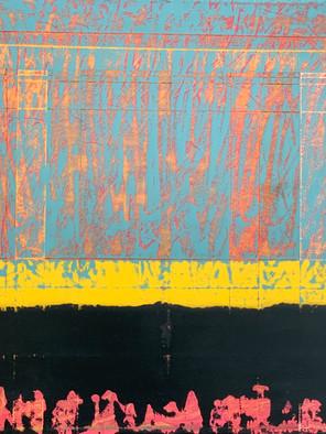 Enamel #5  28 x 22 enamel on canvas