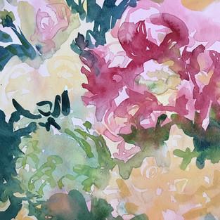 Flower Whispers, artist Nancy DuVergne Smith