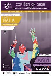 Affiche Festival AOJQ 2020