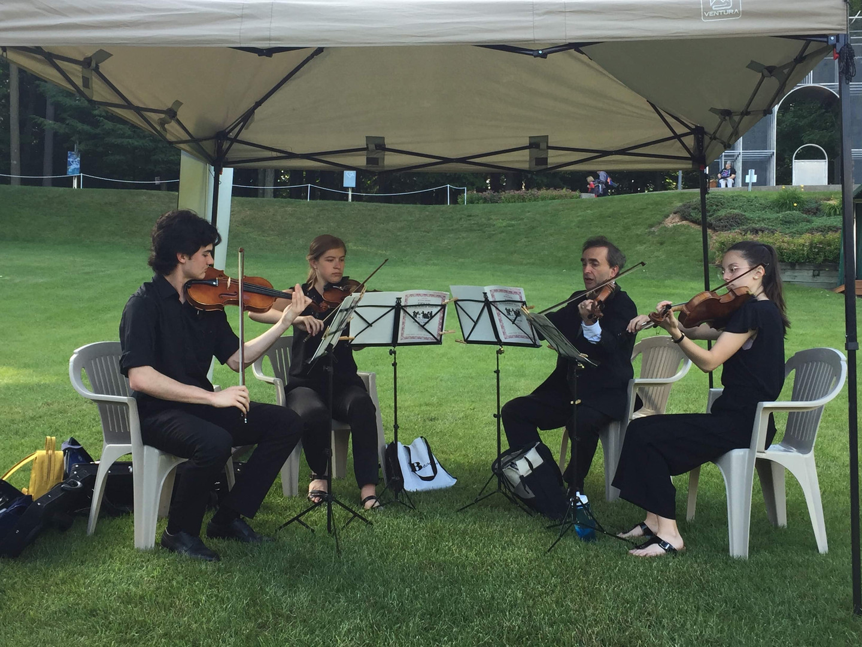 L'orchestre des jeunes de Joliette au Festival Lanaudière en 2019