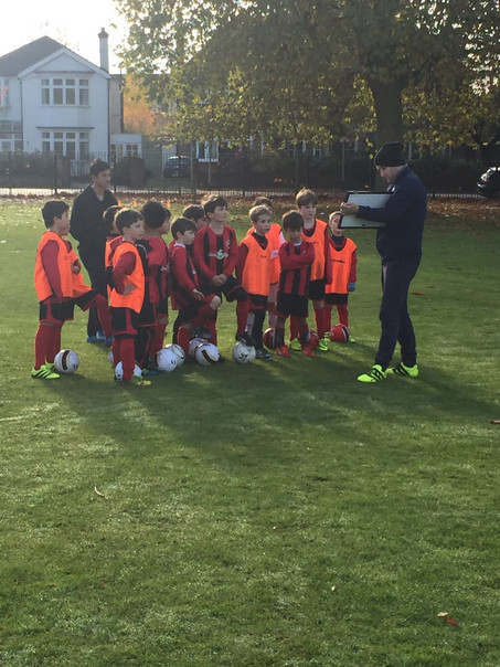 Free Range Kids Footballers Have Payed Full Attention to learn what are the key points for each posi