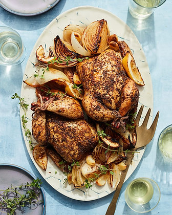 Long Stone Farm Whole Roasted Chicken - serves 3