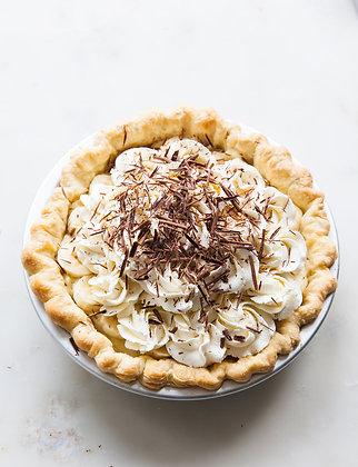 """Banana Chocolate Cream Pies - 4"""""""
