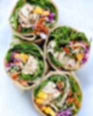 Rainbow-Veggie-Chicken-Wrap-foodiecrush.