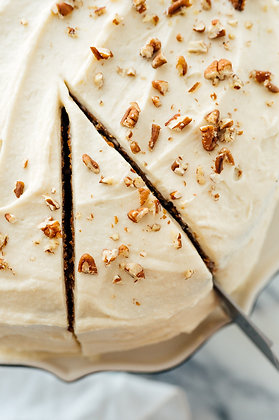 """Cowbell Kitchen Carrot Cake - 6"""""""