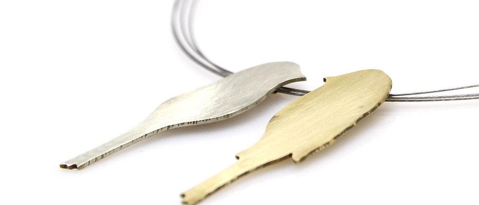 Naszyjnik z ptakami