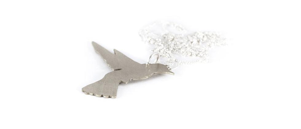 Wisior srebrny koliber