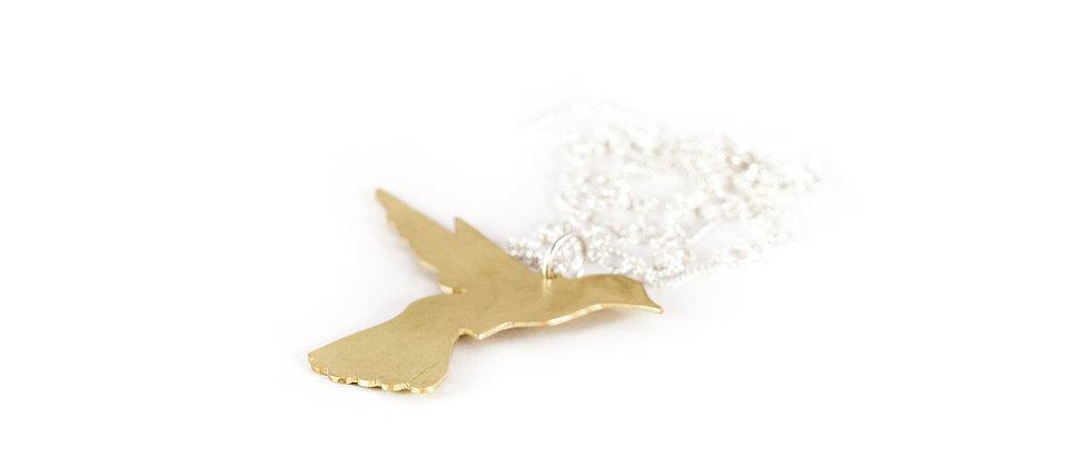 Wisior złoty koliber