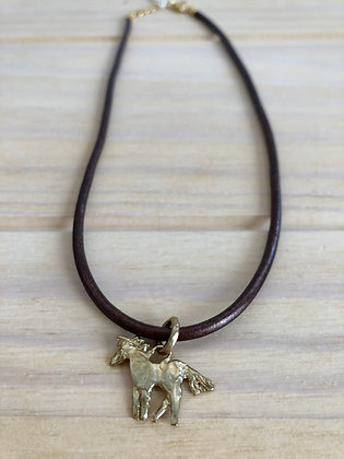 Bronze or Sterling silver Charm Choker