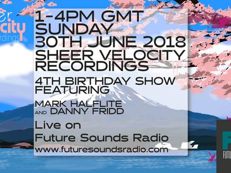 30th June Sheer Velocity Radio Show