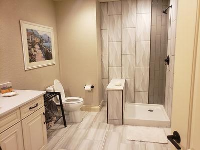finish bathroom