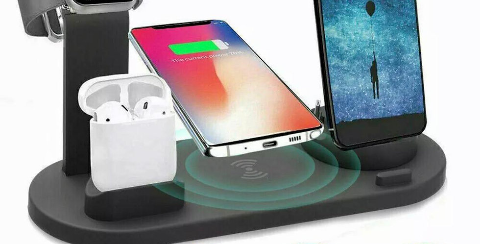 Wireless Charger Stand 3 In 1 Charging Dock Apple Watch Series/iPhone Station