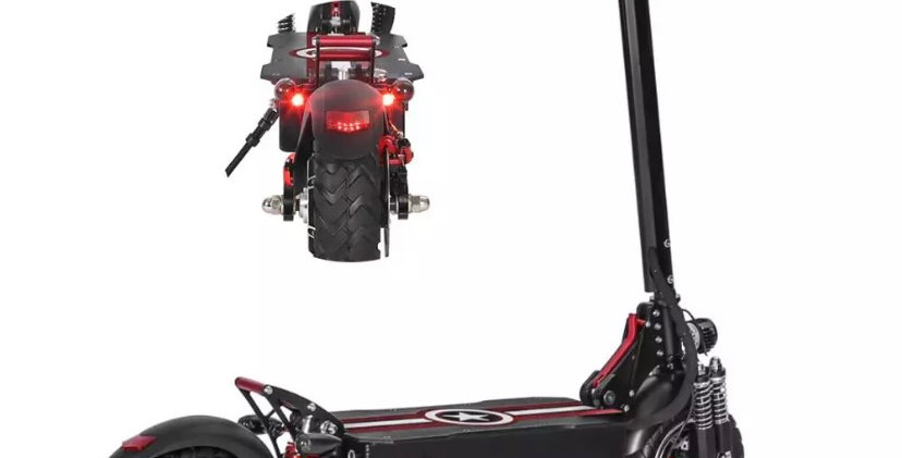 ELECTRIC SCOOTER DUAL MOTOR 48v 2000w  LED LIGHTS AND ALARM BRAND NEW CE