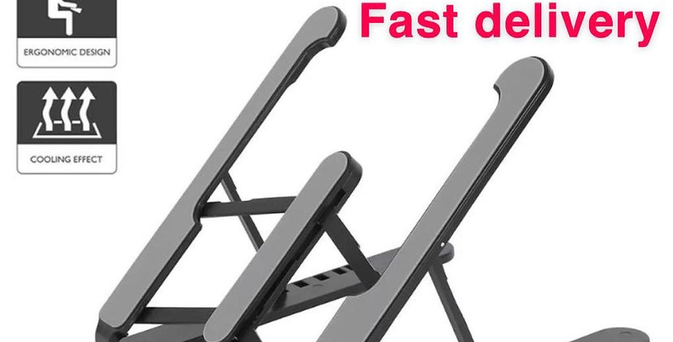 Laptop Tablet Stand Notebook Riser Holder Mount Ergonomic Portable universal use