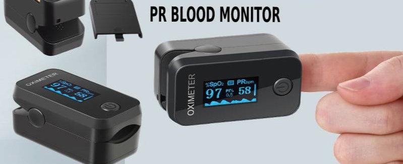Oximeter OLED Fingertip Pulse Oxygen Saturation Meter SPO2 PR Blood Monitor.CE