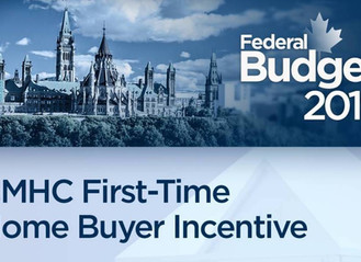 New First Time Buyer Incentives effective Sept 2019