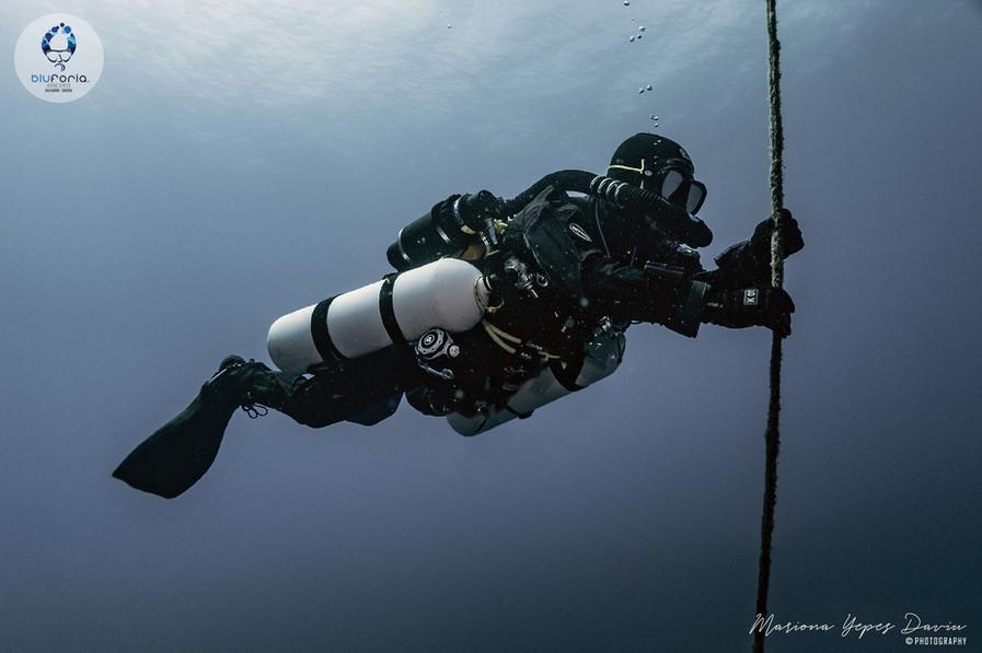 Stratis Kas, tech diving, KISS rebreathe