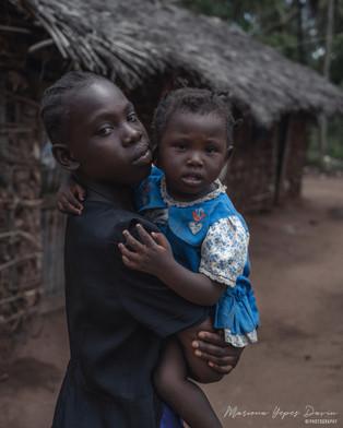 Kids portrait, Kenya