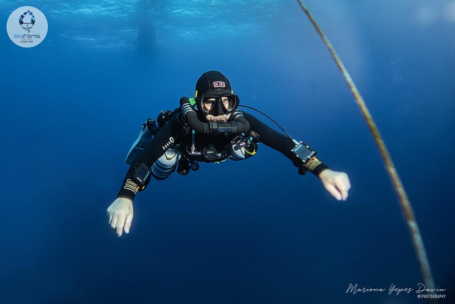 Stratis Kas, tech diving, KISS rebreather, KT 12 Cala Gonone
