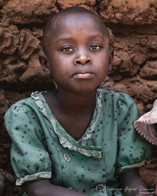 Kid portrait, Kenya
