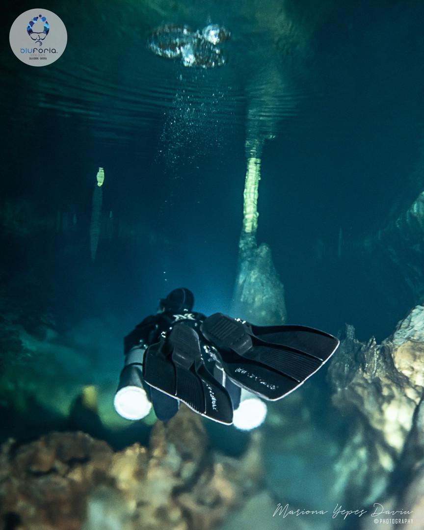 Daniele Pontis, cave diving Cala Gonone