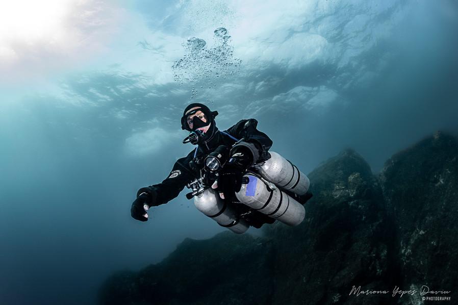 Daniele Pontis, Trimix Diving, Tech Diving, Deep Diving